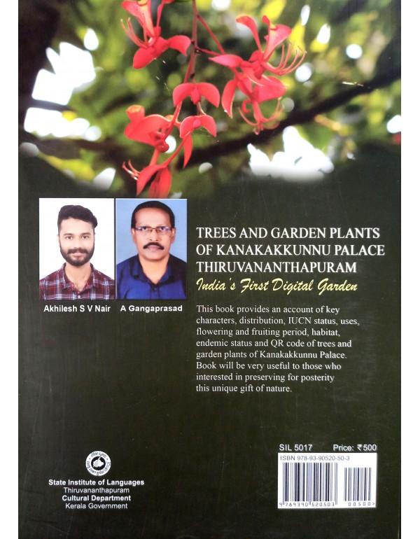 Trees and Garden Plants Of Kanakakkunnu Place Thiruvananthapuram